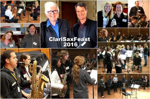 CLARISAX FEAST 2016