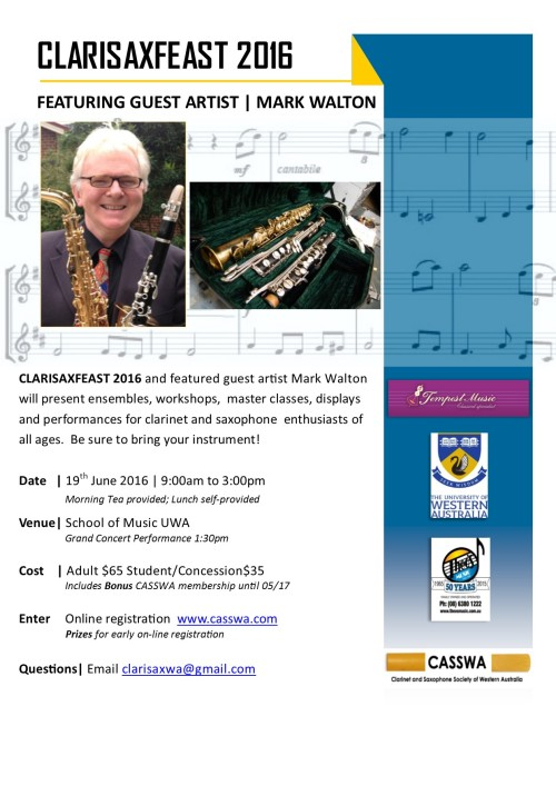 ClarisaxFeast 2016 Flyer 2