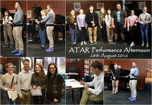 ATAR Performance Afternoon 2016